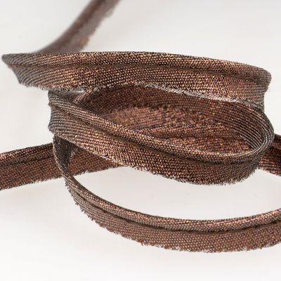 blinkend paspelband bronz