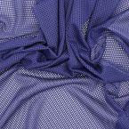 Tissu résille extensible bleu klein