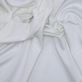 Mesh fabric - white