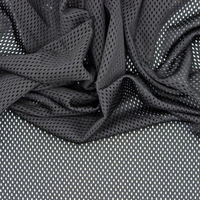 Tissu résille noir