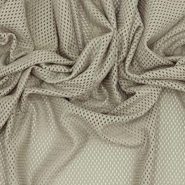 Tissu résille gris