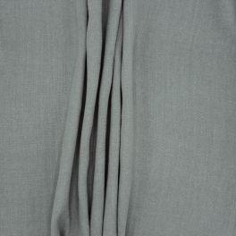 Tissu d'ameublement en lin uni gris