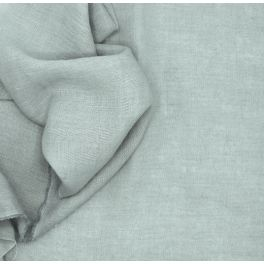 Plain beige linen fabric