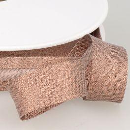 Bias binding with copper lurex