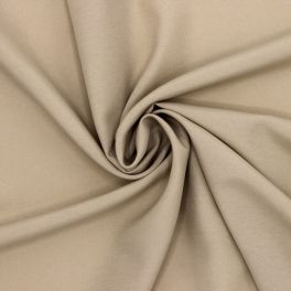 Tissu léger 100% viscose beige