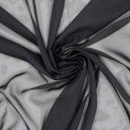 Voile 100% polyester noir