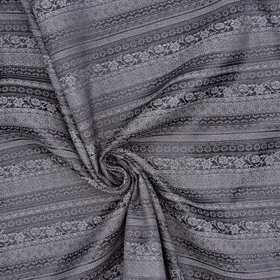 Jacquard stof slang effect wit