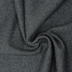 Bord côte tubulaire Lurex gris foncé