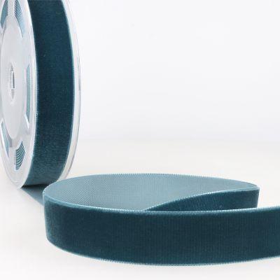 ruban velours bleu canard. Black Bedroom Furniture Sets. Home Design Ideas