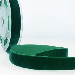 ruban velours vert bouteille