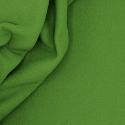 Tissu polar vert grenouille