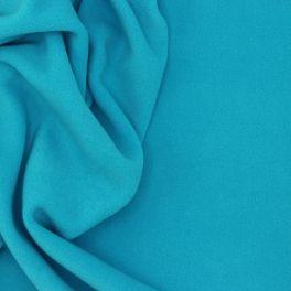 Blue fleece fabric