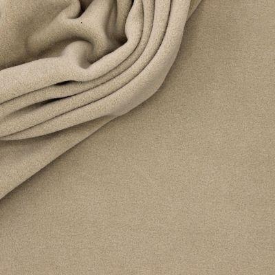 Tissu polar beige mastic