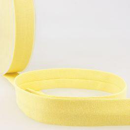 Biais jersey jaune paille
