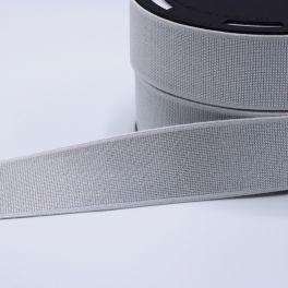 Ceinture élastique grise 6 cm