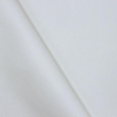 Simili cuir uni blanc