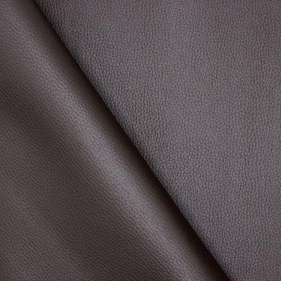 Simili cuir uni brun