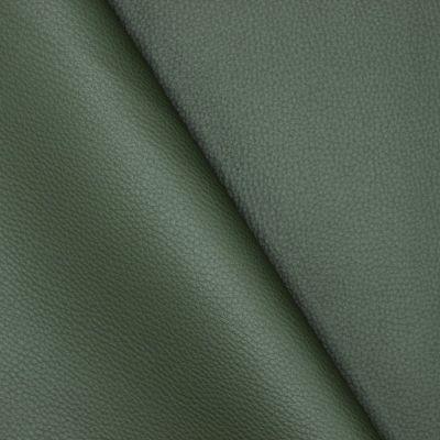 Simili cuir uni vert