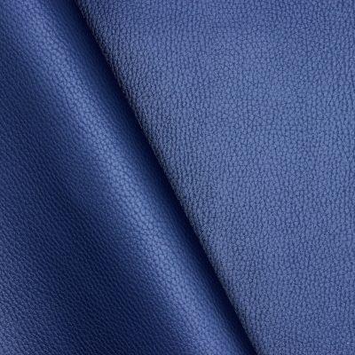 Simili cuir uni bleu