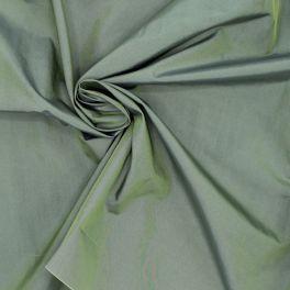 Tissu imperméable vert effet changeant
