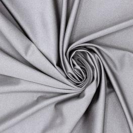 Tissu en lycra argent