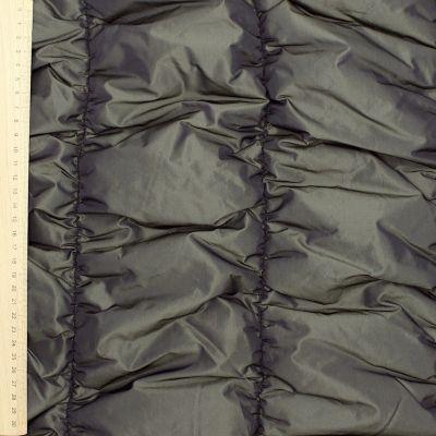 Grey polyester taffetas