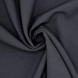 Polyesterstof vloeibaar en soepel blauw