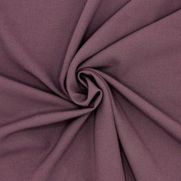 Tissu polyester fluide, lourd et stretch bordeaux