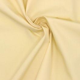 Tissu aspect soie lavée jaune pâle