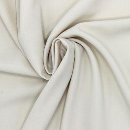 Tissu crêpe écru