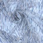 Tissu en voile polyester et lurex