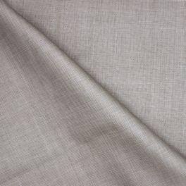 Oranje imitatie raffia katoen en polyester stof