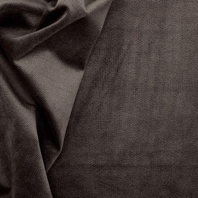 Tissu en velours imitation serpent brun