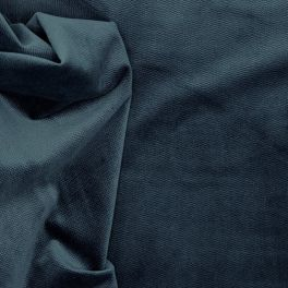 Tissu en velours imitation serpent bleu