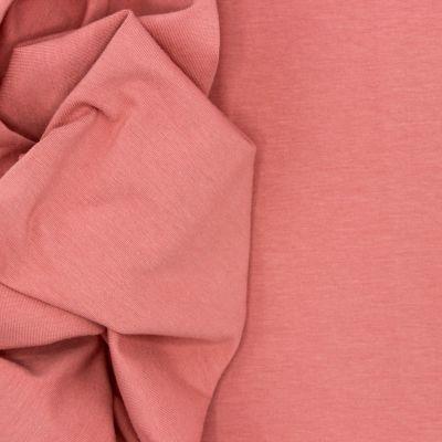 Tissu jersey marsala