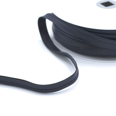 Paspelband simili zwart