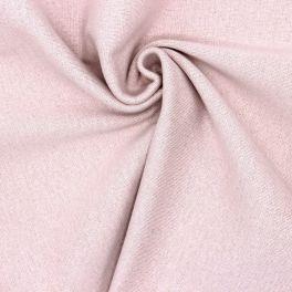 Bord côte tubulaire rose lurex doré