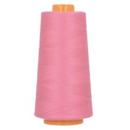 Bobine de fil à surfiler et à coudre rose barbie