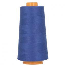 Bobine de fil à surfiler et à coudre bleu roy