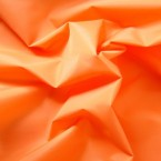 Windproof orange microfiber polyester fabric