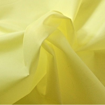Windproof yellow microfiber polyester fabric