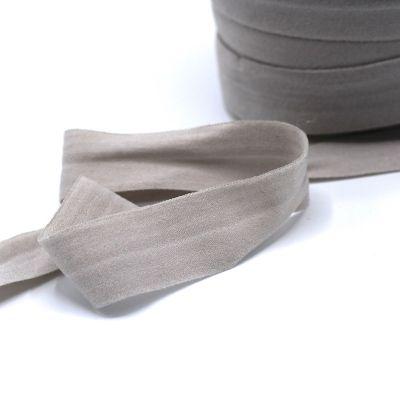 Elastique bretelle lingerie plat 20mm gris clair