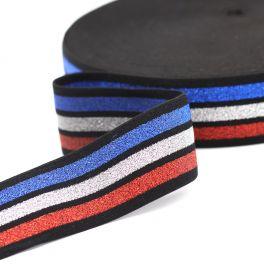 Gestreept elastische riem - kleurrijk
