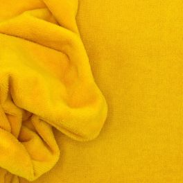 Terry bamboo fabric - yellow