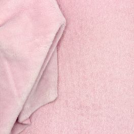 Terry bamboo fabric - pink