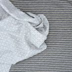 Tissu sweat double face avec Lurex
