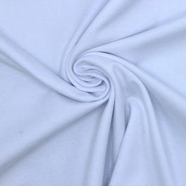 Marineblauw gemoltoneerd sweatstof met glittereffect