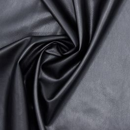 Simili cuir souple noir