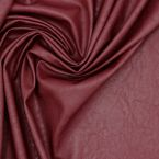 Faux leather - burgundy