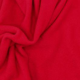 Purple fleece fabric